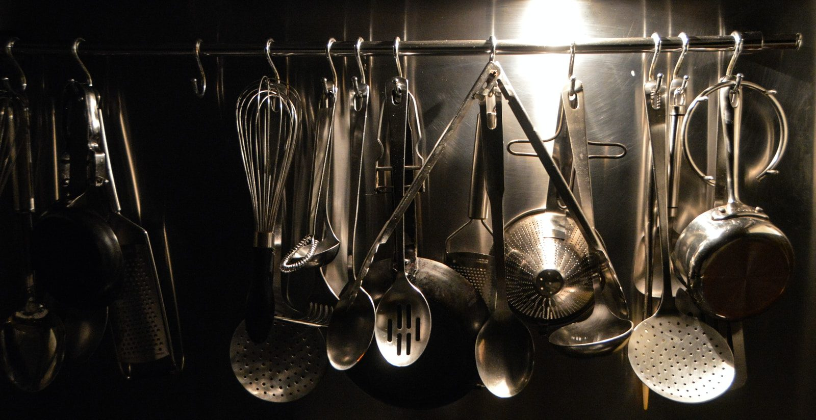 stainless steel spoons and spoons